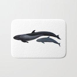 False killer whale Bath Mat