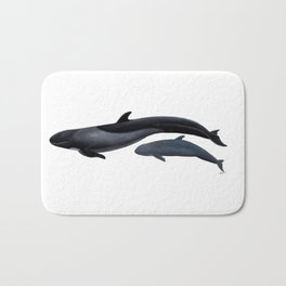 False killer whale Bath Mat