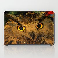owls iPad Cases featuring Owls by Ganech joe