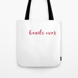 I Love It When She Bends Over Funny Fish Fisherman Puns Tote Bag