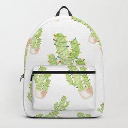 cactus christmas tree Backpack