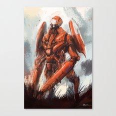 Mantis exterior bot Canvas Print