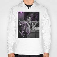 kevin russ Hoodies featuring Kevin?! by Justyna Rerak