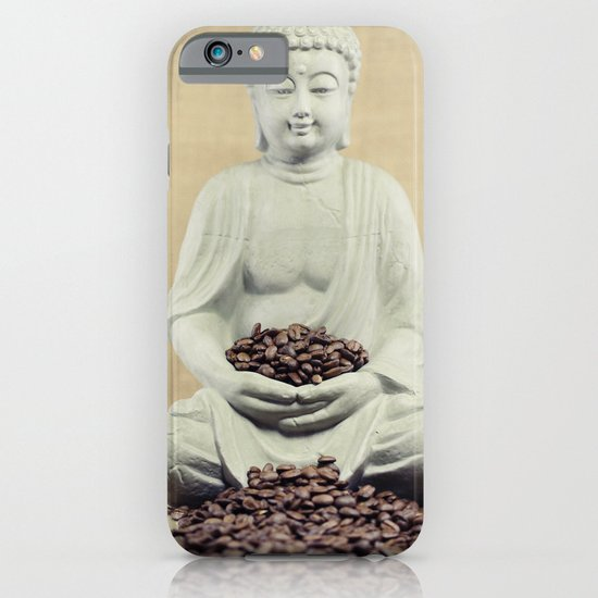 Coffee beans Buddha 3 iPhone & iPod Case