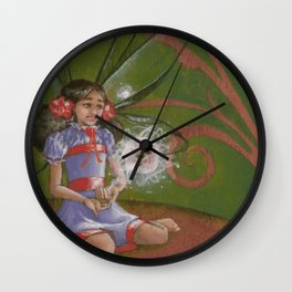 Sending You My Love II Wall Clock