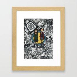It's a Sick Sad World Daria Framed Art Print
