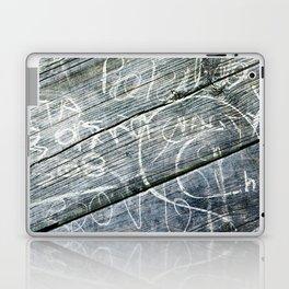 graffiti wood Laptop & iPad Skin