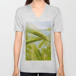 Green Grass Unisex V-Neck