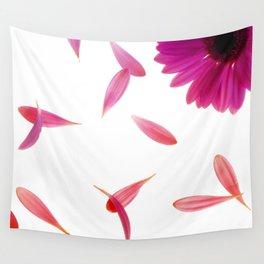 purple petaled flower  Wall Tapestry