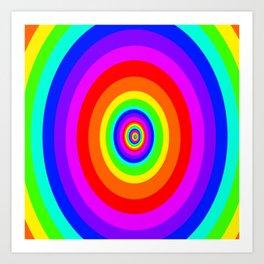 Full Colour  Art Print