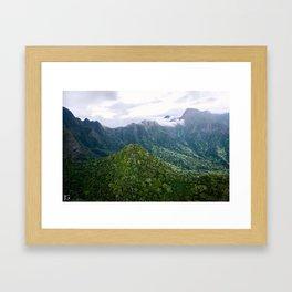 Iao Valley, Maui Framed Art Print