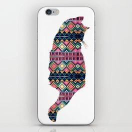 Aztec Cat iPhone Skin