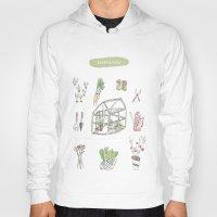 calendar Hoodies featuring Calendar Garden`15 by Inga Provorova
