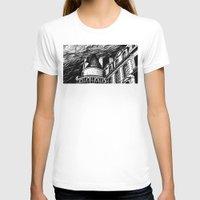 castle T-shirts featuring Castle by Pablo Rey