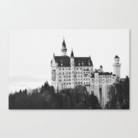 fairytale Canvas Prints featuring fairytale by jeanette.