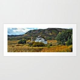 Fantastic Farm Art Art Print