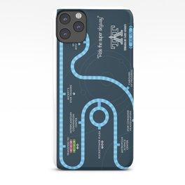 Tomorrowland Transit Authority Map iPhone Case