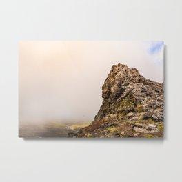 Behind The Clouds Metal Print