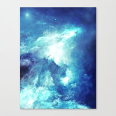 Stardust Waves Canvas Print