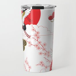 japan art Travel Mug