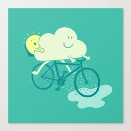 Weather Cycles Canvas Print