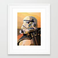 sand Framed Art Prints featuring Sand by Liam Brazier