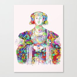 Anne of Cleves Canvas Print