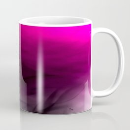 Pink Flames Pink to Black Gradient Coffee Mug