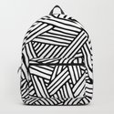 Abstract white & black Lines and Triangles Pattern-Mix and Match with Simplicity of Life by simplicity_of_live