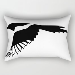 Pica Pica (magpie)  one Galery Giftshop Rectangular Pillow