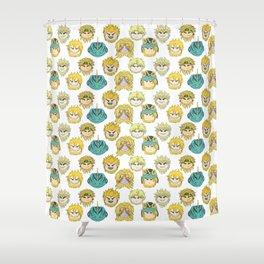 Dio Beans Shower Curtain