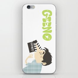 Geeno! Take #1 iPhone Skin