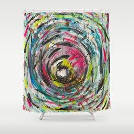 Art can't lie Shower Curtain