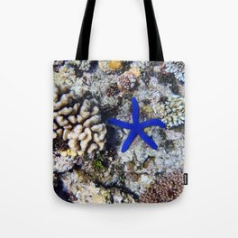 Starfish on the Reef Tote Bag