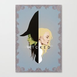 Wicked | Frame Canvas Print