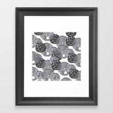 PLANETS Framed Art Print