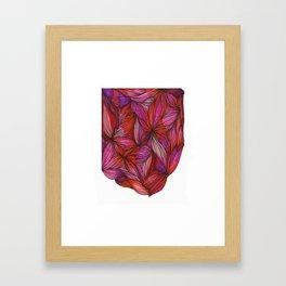 brightly blooming full Framed Art Print