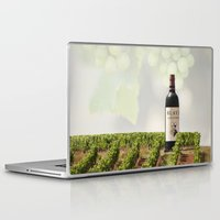 wine Laptop & iPad Skins featuring Wine by Gouzelka