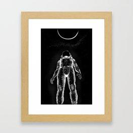 Astroman Framed Art Print