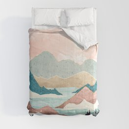 Lake Sunrise II Comforters