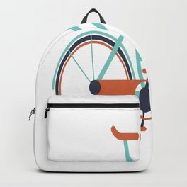 Biking t-shirt Backpack