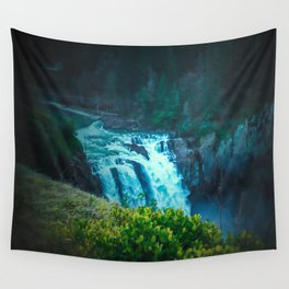 Snoqualmie Falls Wall Tapestry
