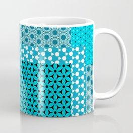 Abstract Turquoise Pattern C1 Coffee Mug