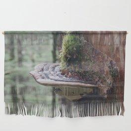 Magical Fungi World   Nature Photography Wall Hanging