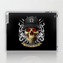 Vaping Skull - Vape On - Cloud Chaser - Vaper Laptop & iPad Skin