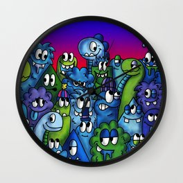 Homies Wall Clock