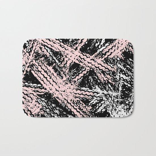 Desert Tracks Pink Bath Mat