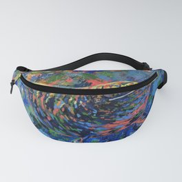 Multi Narwhal Fanny Pack