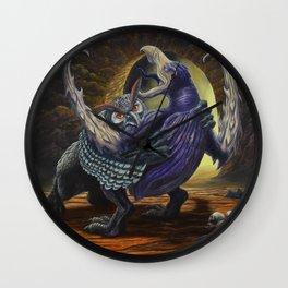 Hooks & Talons Wall Clock