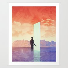 Silkdream Art Print